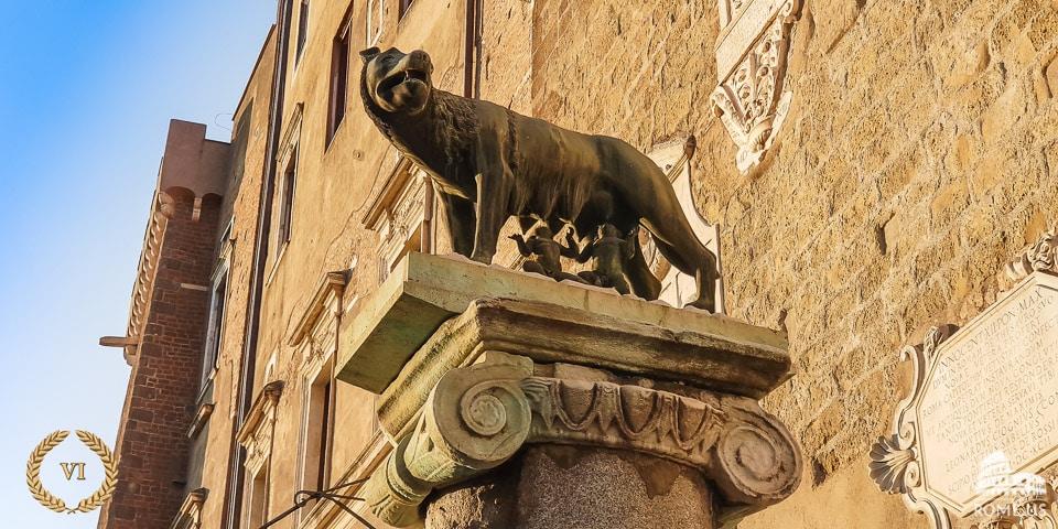 Capitoline Wolf symbol of Rome