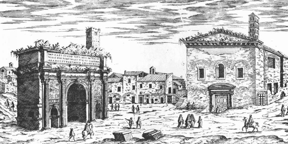 history of Jewish Ghetto in Rome