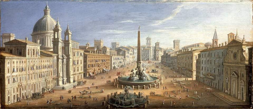 History of Piazza Navona