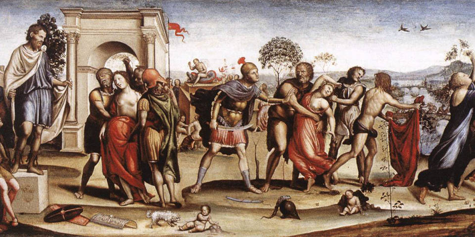 The legend of the Sabine women