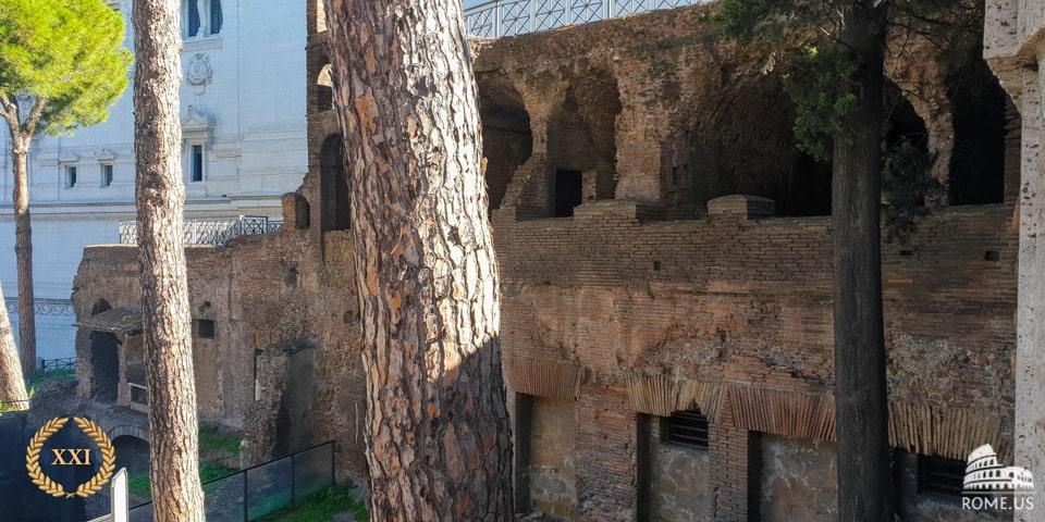 Ancient Insula Romana