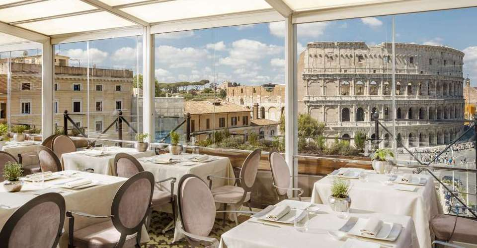 Aroma restaurant in Rome