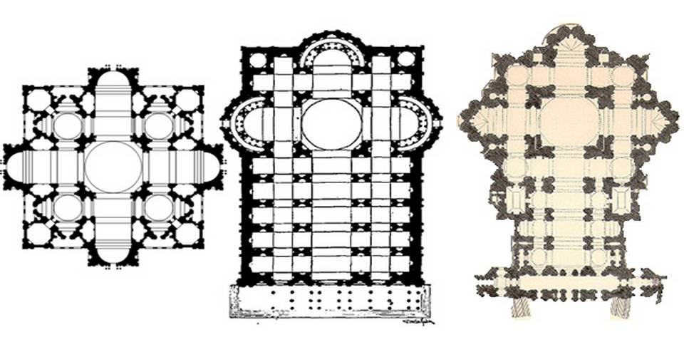 Evolution of St Peter's Basilica