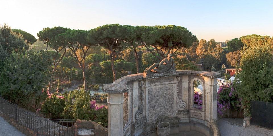 Caelian Hill in Rome