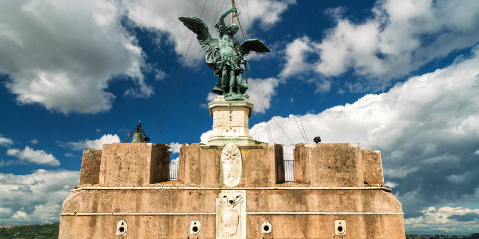 Castel St Angelo sculpture