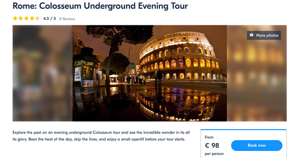 Ancient Rome Tour: Colosseum Underground, Arena and Forum