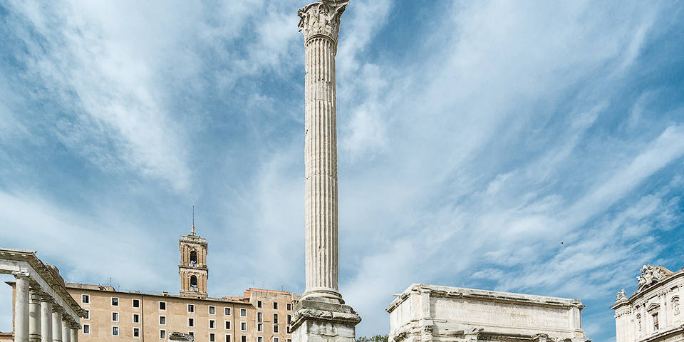 Column of Phocas in Rome