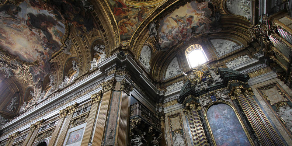 Chruch Gesu in Rome