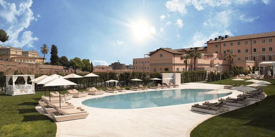 Gran Melia Hotel in Rome