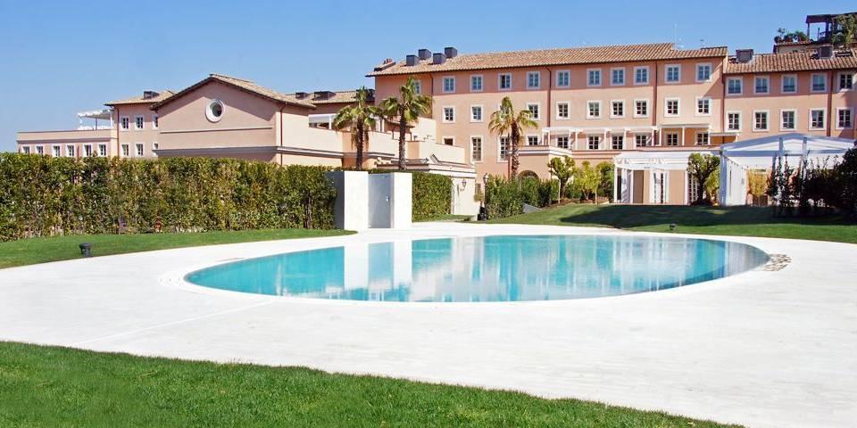 5 star Hotel Gran Melia near Vatican in Rome