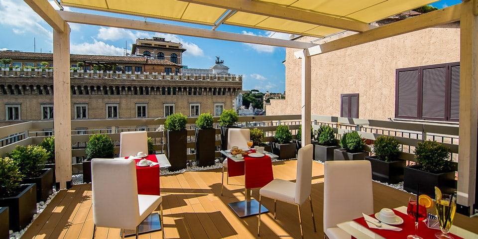 Hotel Piazza Venezia in Rome Italy