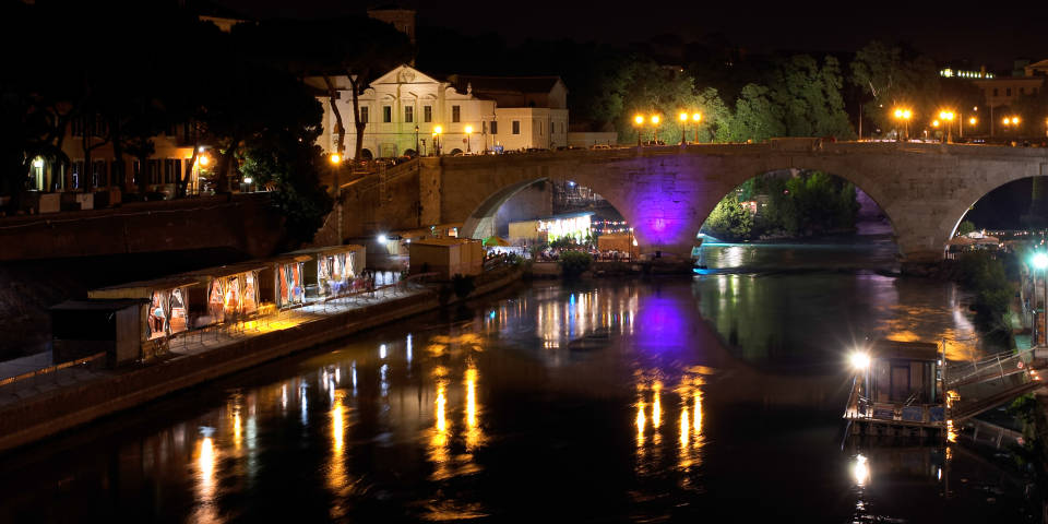 How to find Tiber island