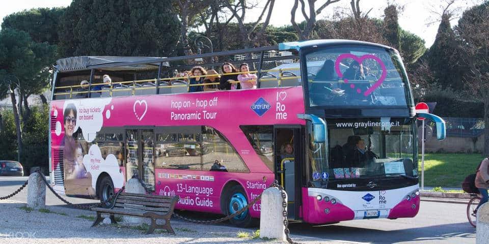 I Love Rome Tour Bus