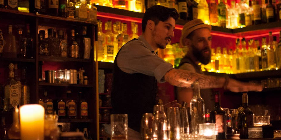 Jerry Thomas Project Secret Bar in Rome