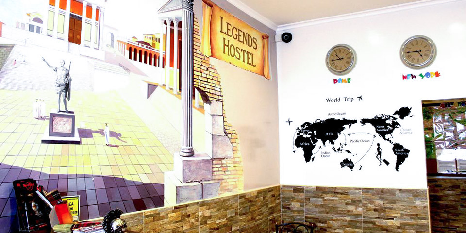 Legends Hostel in Rome