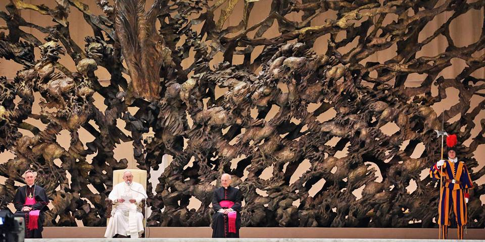 Papal Throne in Vatican