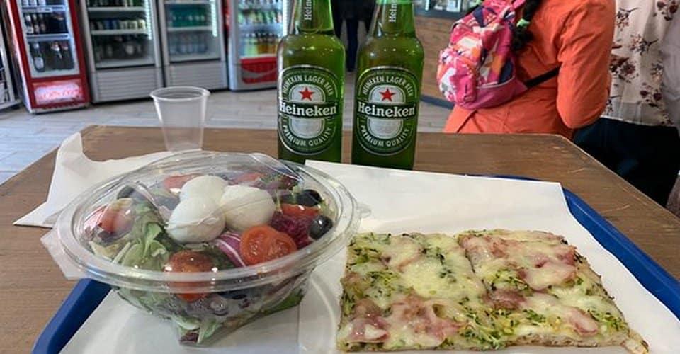 Pizza Al Massimo in Campitelli district in Rome