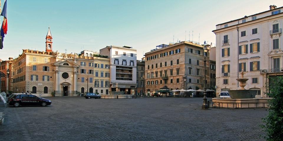 Regola district in Rome