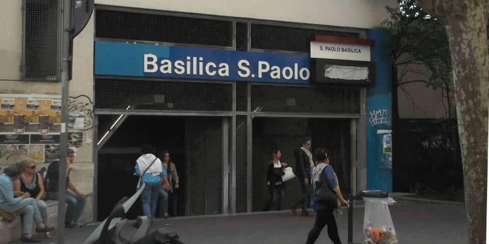 san paolo metro station