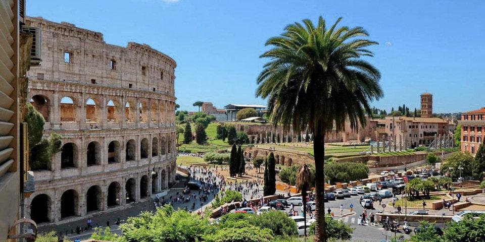 Romance al Colosseo apartment in Rome