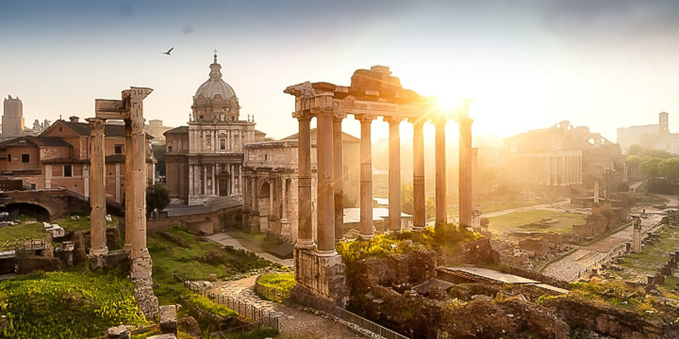 Rome Sightseeing Tour at Sunrise