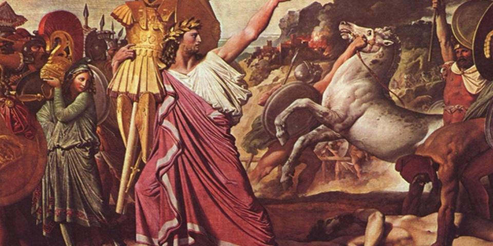 Romulus the creator of Rome