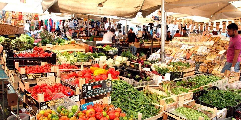San Cosimato market in Trastevere