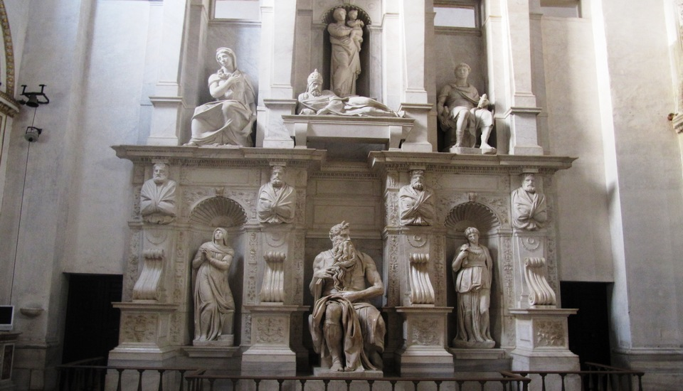 San Pietro in Vincoli in Rome Michelangelo