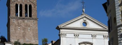 Sant'Eustachio district in Rome