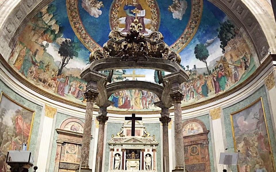 Santa Croce in Gerusalemme interior