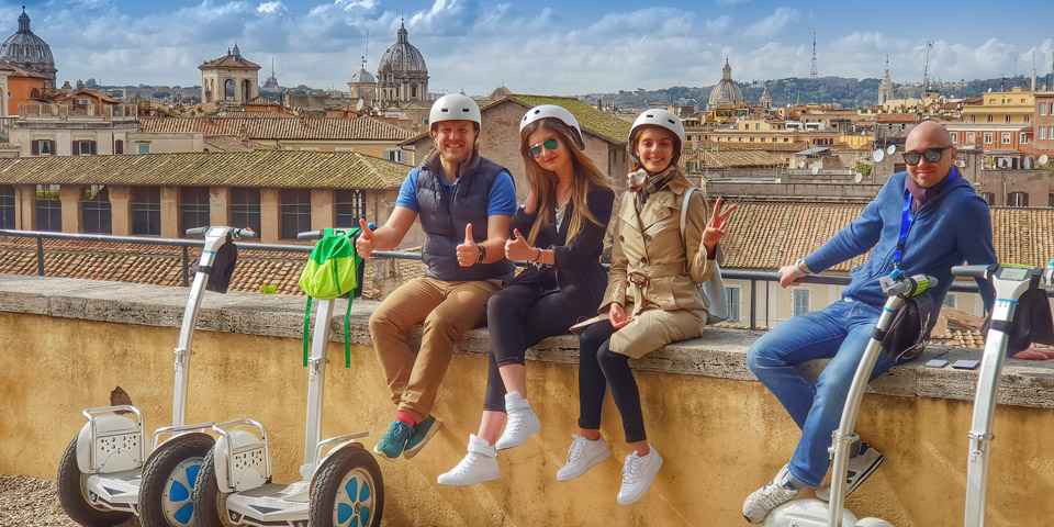 Guided Segway Rome Tours