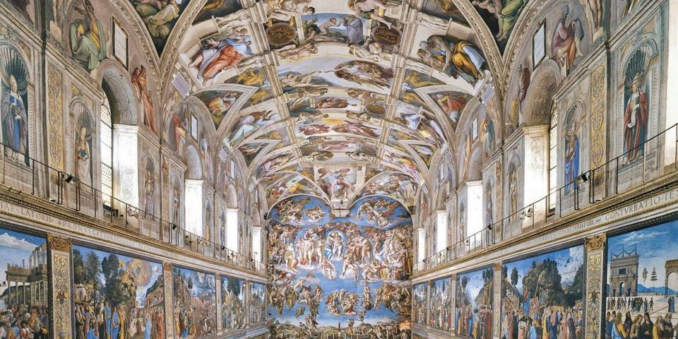 The Sistine Chapel in The Vatican