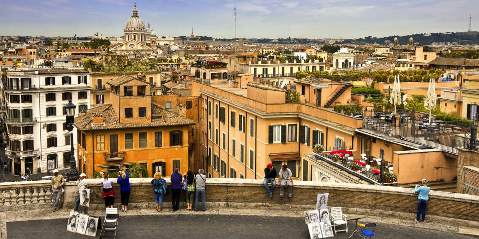 Spanish Steps how to get