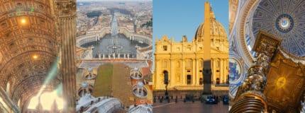 St Peter's Basilica Tour at Sunrise