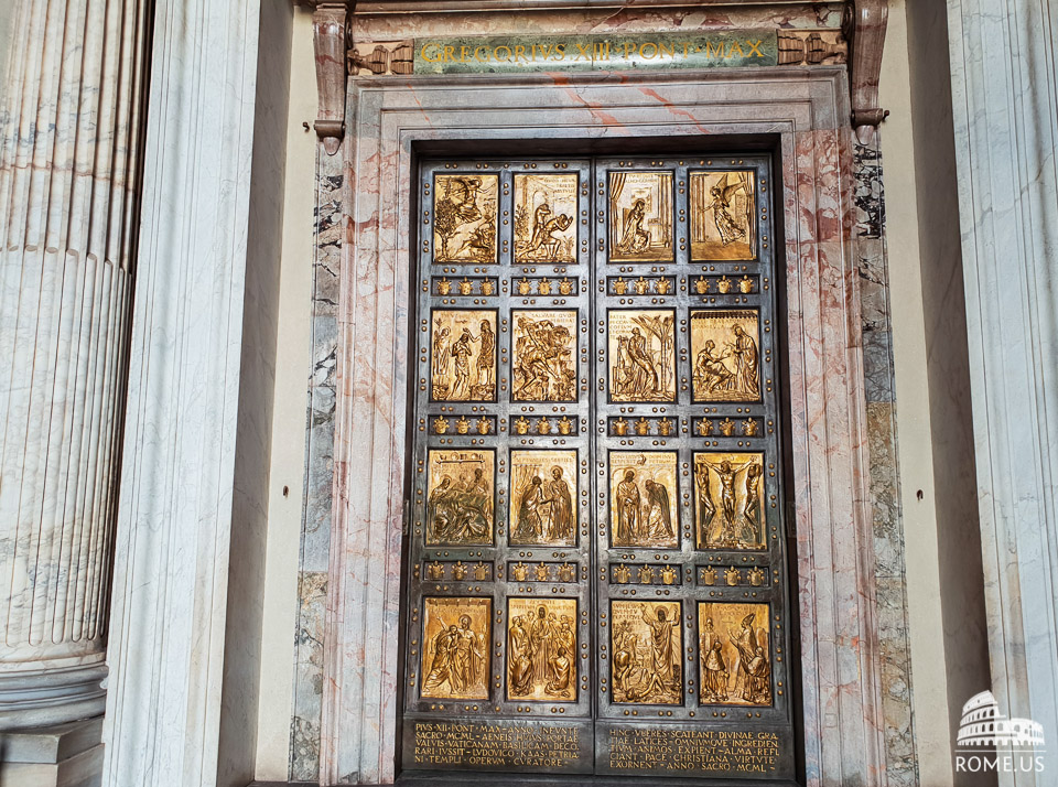 Holy Door in the Vatican