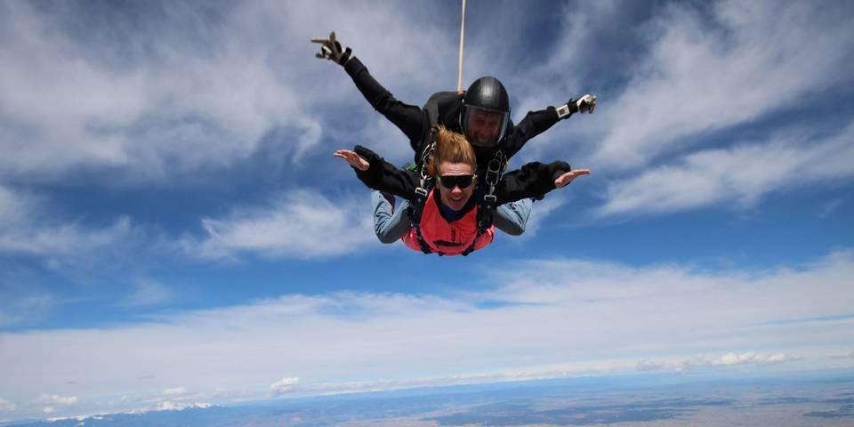 skydiving in rome