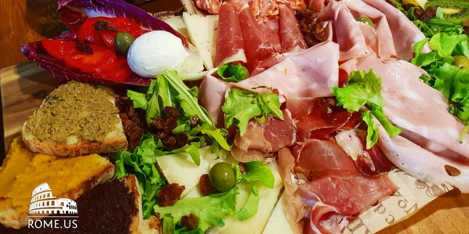 Tasting of Italian Delicacies in Trastevere, Rome