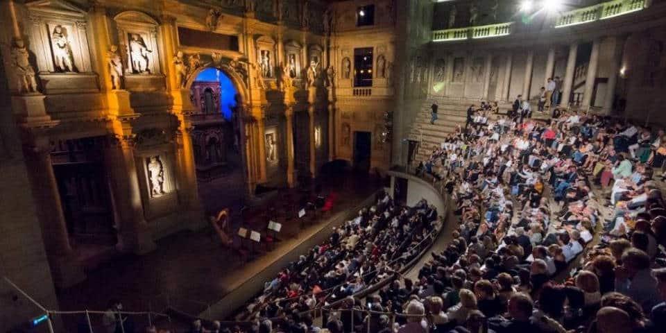 teatro olimpico in Rome