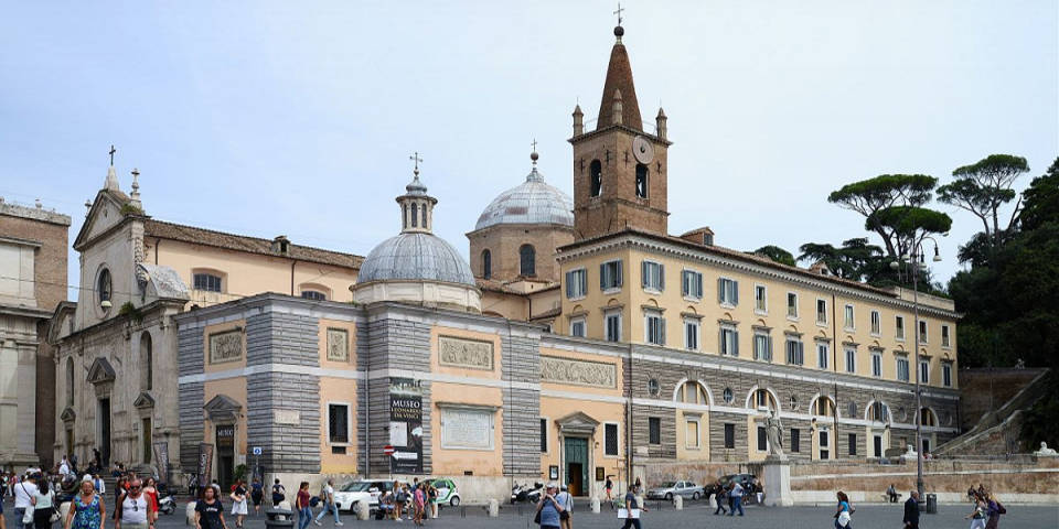 The Basilica of Santa Maria del Popolo
