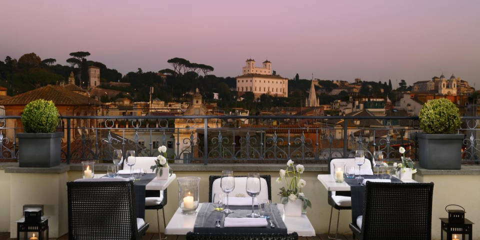 Best Rooftop Bars And Restaurants In Rome Romantic Date