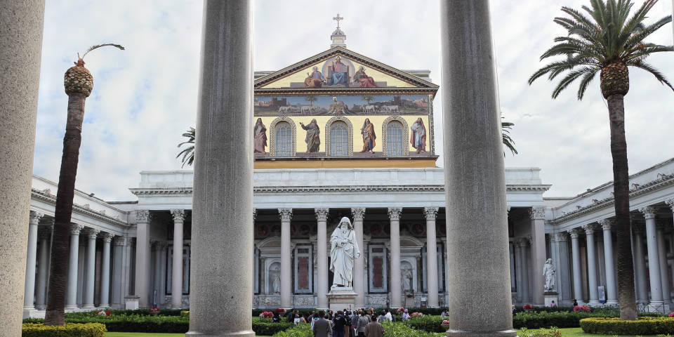 The Basilica of St. Paul outside the Walls