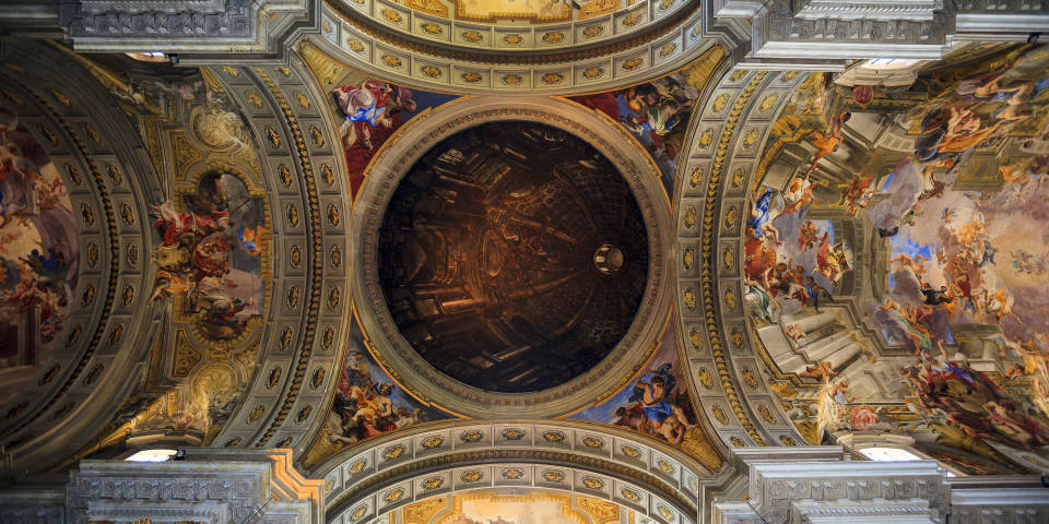 The Church of the Gesù in Rome