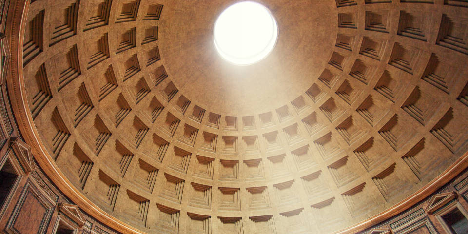 The Pantheon Eye