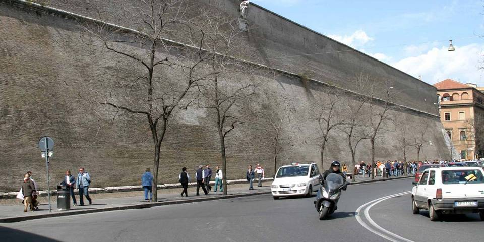 The Vatican Wall