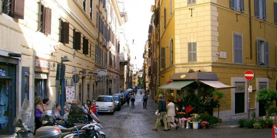Via del Boschetto