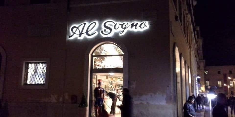 Al Sogno toy store in Rome