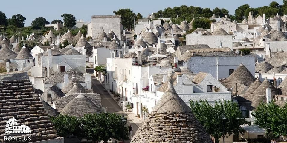 Trip from Rome to Alberobello