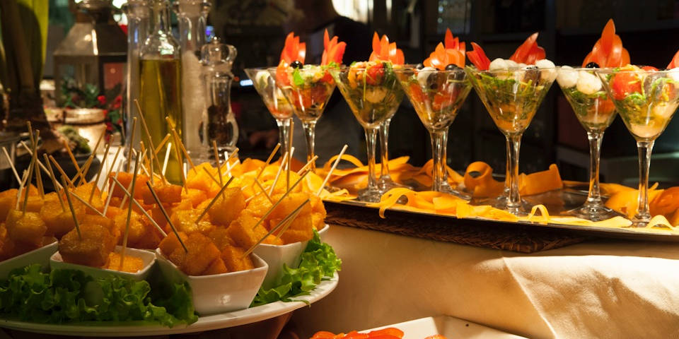 Best buffet aperitivo in Rome