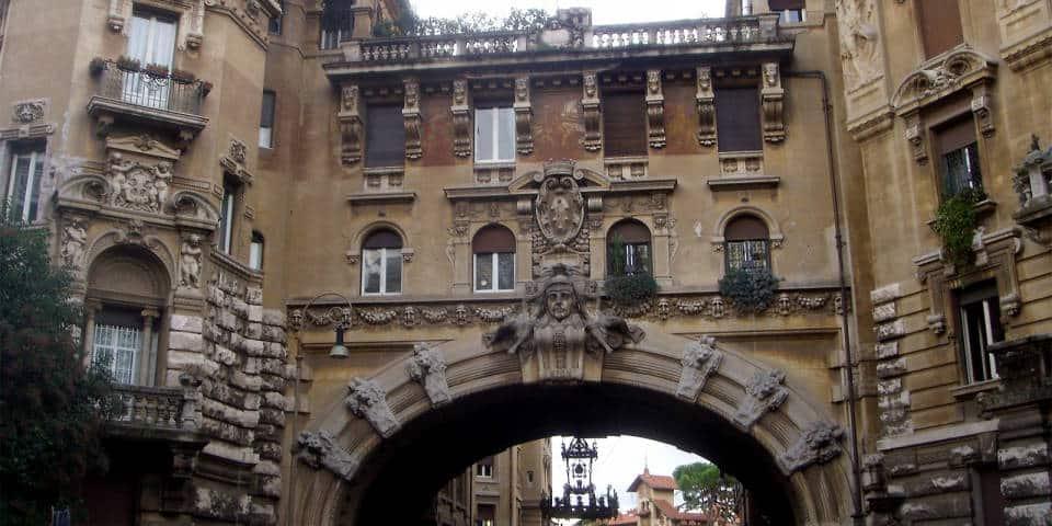 Arch in Quartiere Coppede