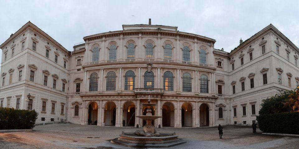 Barberini Palace in Rome